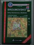 Broumovsko. Góry Kamienne a Stołowe. Turistická mapa 1:50 000 - náhled