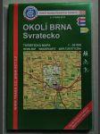 Okolí Brna, Svratecko. Turistická mapa 1:50 000 - náhled