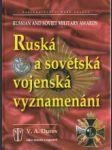 Ruská a sovětská vojenská vyznamenání - náhled