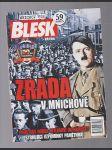 Blesk - Zrada v Mnichově - časopis - náhled
