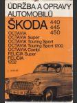 Údržba a opravy automobilů ŠKODA 440, 445, 450, Octavia…. - náhled