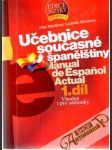Učebnice současné španělštiny 1. díl - náhled