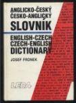 Anglicko-český česko-anglický slovník - náhled