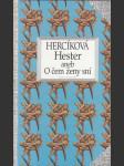 Hester aneb O čem ženy sní - náhled