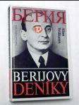 Berijovy deníky - náhled