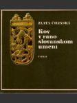 Kov v ranoslovanskom umení - náhled