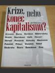 Krize, nebo konec kapitalismu ? - náhled