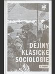 Dějiny klasické sociologie - náhled