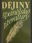 Dějiny španělské literatury - náhled