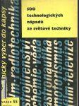 500 technologických nápadů ze světové techniky - náhled