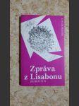 Zpráva z Lisabonu - náhled