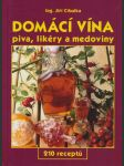 Domácí vína, piva, likéry a medoviny - náhled