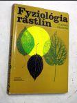 Fyziológia rastlín rastlín - náhled