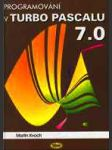 Programování v turbo pascalu 7.0 - náhled