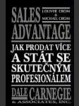 Sales advantage - jak prodat více a stát se skutečným profesionálem - náhled