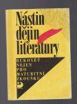 Nástin dějin literatury - rukovět´ nejen pro maturitní zkoušku - náhled