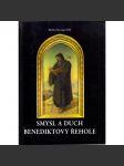 Smysl a duch benediktovy řehole - náhled