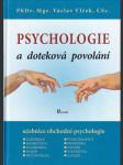 Psychologie a doteková povolání - učebnice obchodní psychologie - náhled