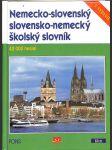 Nemecko-slovenský a slovensko-nemecký školský slovník - náhled