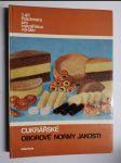 Cukrářské oborové normy jakosti. 1. díl, Polotovary pro cukrářskou výrobu - náhled