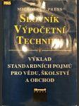 Microsoft Press slovník výpočetní techniky - výklad standardních pojmů pro vědu, školství a obchod - náhled