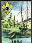 Skautský kalendář 1993 - náhled
