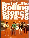 Best of The Rolling Stones 1972-78. 20 songs arranged for piano, voice & guitar - náhled