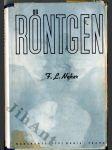 Röntgen - román badatele - náhled