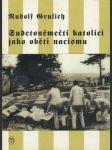 Sudetoněmečtí katolíci jako oběti nacismu - náhled