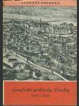 Grafické pohledy Prahy 1493-1850. Sv. 1, Zmizelá Praha 6 - náhled