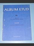 Klavír : Album etud III., pro 4. stupeň technické vyspělosti - / noty - náhled