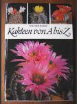 Kakteen von A biz Z - ein Ratgeber für den Kakteenfreund mit Kurzbeschreibung der wichtigsten bis Ende 1979 - benannten Gattungen und Arten von Kakteen sowie der dazugehörigen Wissensgebiete - náhled