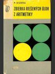 Zbierka riešených úloh z aritmetiky - náhled