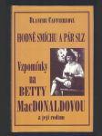 Hodně smíchu a pár slz - vzpomínky na přátelství s Betty MacDonaldovou a její rodinou - náhled