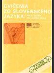 Cvičenia zo slovenského jazyka 8. - náhled