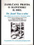 Zamlčaná pravda o Slovensku II. - náhled