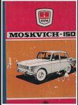 Moskvich -1500 (Moskvič 1500) - katalog náhradních dílů - náhled