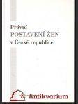 Právní postavení žen v České republice - náhled