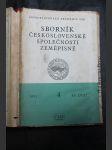 Sborník Československé společnosti zeměpisné. Roč. 1953. Sv. 58 - náhled