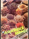 Arabské menu - náhled