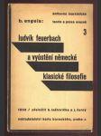 Ludvík Feuerbach a vyústění německé klasické filosofie - náhled