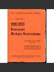 Proroctví Michala Nostradama, sešit 1. - náhled