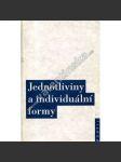 Jednotliviny a individuální formy - náhled
