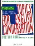 Topics for English conversation - náhled