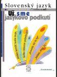 Slovenský jazyk pre 9. roč. ZŠ Učebnica I. diel - náhled
