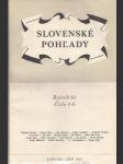 Slovenské pohľady 1945 č. 1.-12. roč. 61. - náhled