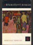 Třígrošový román - náhled
