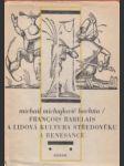 Francois Rabelais a lidová kultura středověku a renesance - náhled