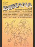 Bibiana 1995 č.1. roč. III. - náhled
