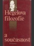 Hegelova filozofie a současnost - náhled